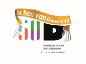 Logo 50 jaar Dukenburg